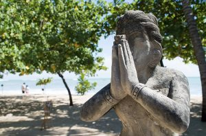 Prayer Statue, Duality and Forgiveness
