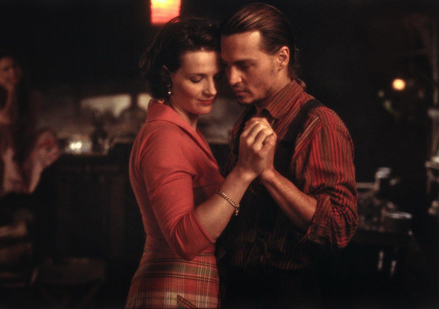 Spiritual romance in the movie Chocolat