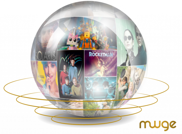 Crystal Ball Showing Spiritual Movies Inside