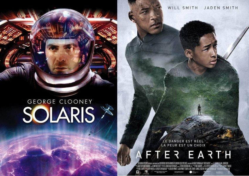 Two Spiritual Movies Solaris and After Earth