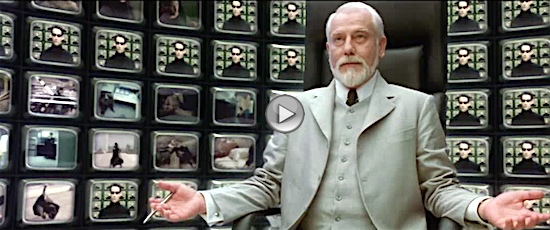 The Matrix Choice is Problem Clip - Movie Watcher's Guide to Enlightenment News